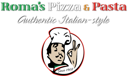 Roma's Pizza and Pasta Logo